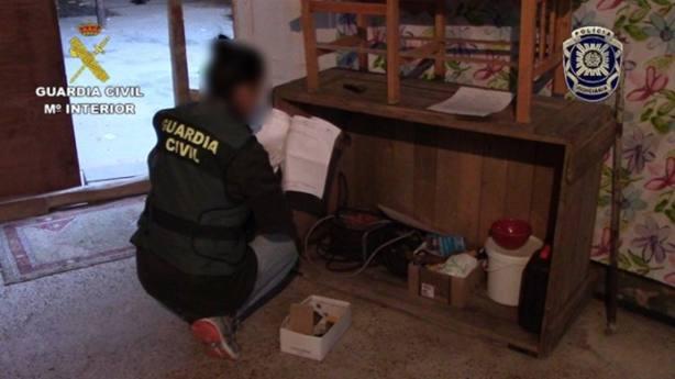 La Guardia Civil desarticula una organización criminal internacional dedicada a la Trata de Seres Humanos