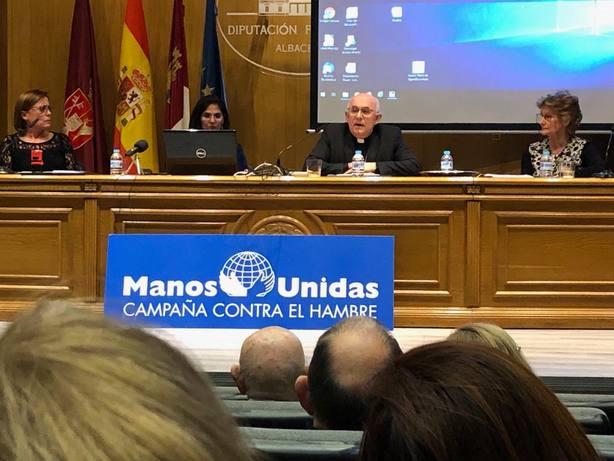 Manos Unidas presentación campaña contra el hambre 60º
