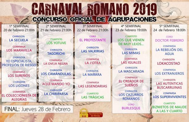 SEMIFINALES MERIDA 2019