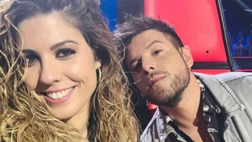 Miriam Rodríguez y Pablo López