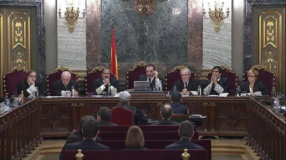 Los encausados del Procés piden al Supremo exhibir material audiovisual