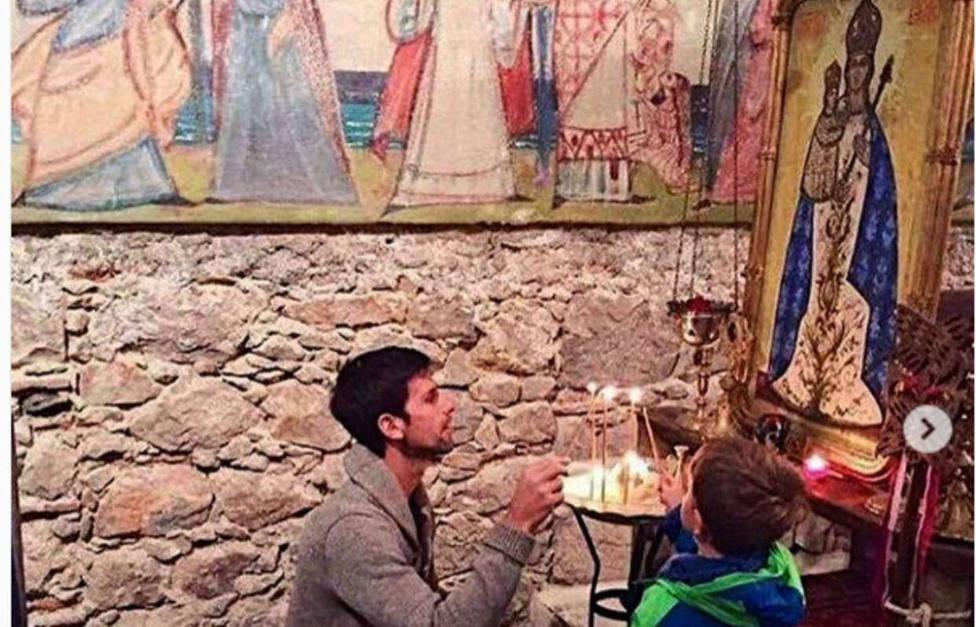 El tenista Novak Djokovic quiere salvar una capilla en Niza