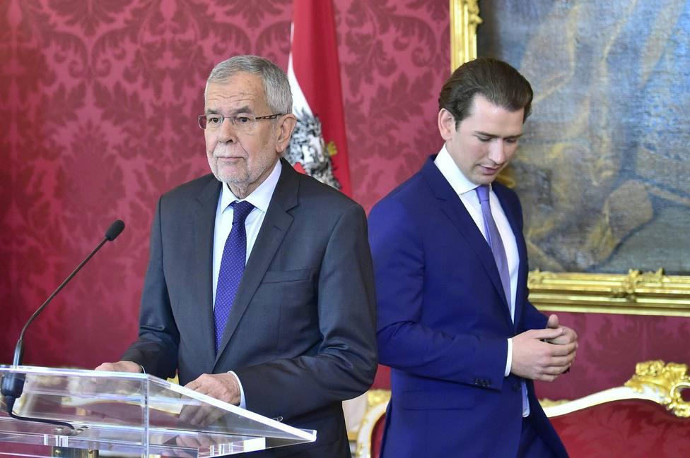 El presidente de Austria propone celebrar las elecciones anticipadas para principios de septiembre