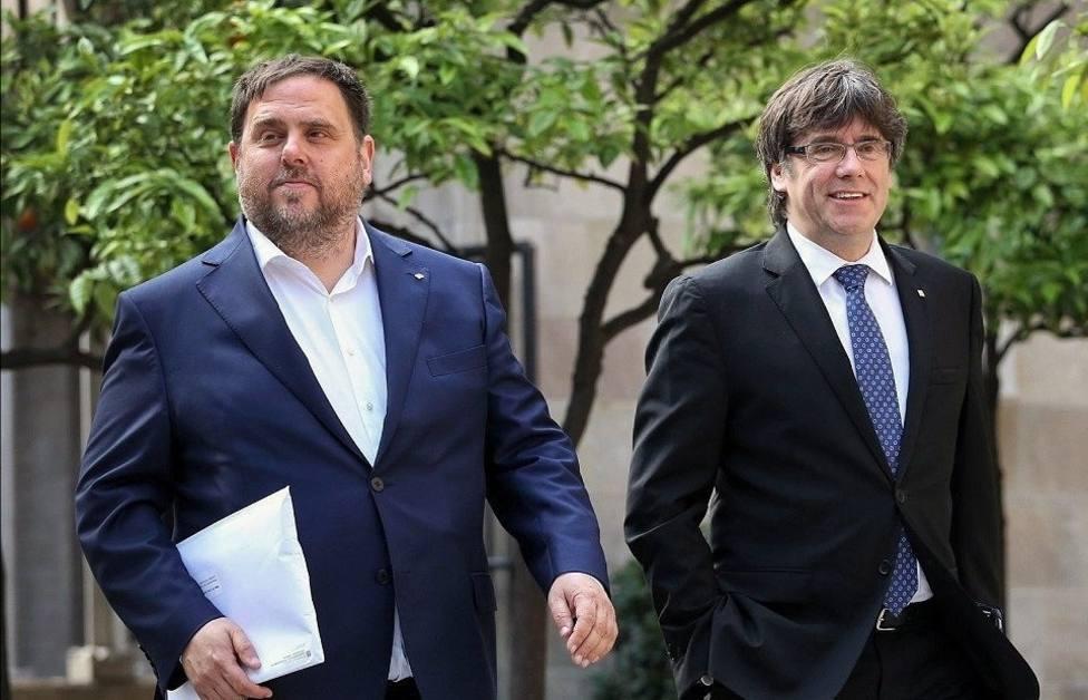 La JEC comunica al Parlamento Europeo que los escaños de Junqueras, Puigdemont y Comín quedan vacantes