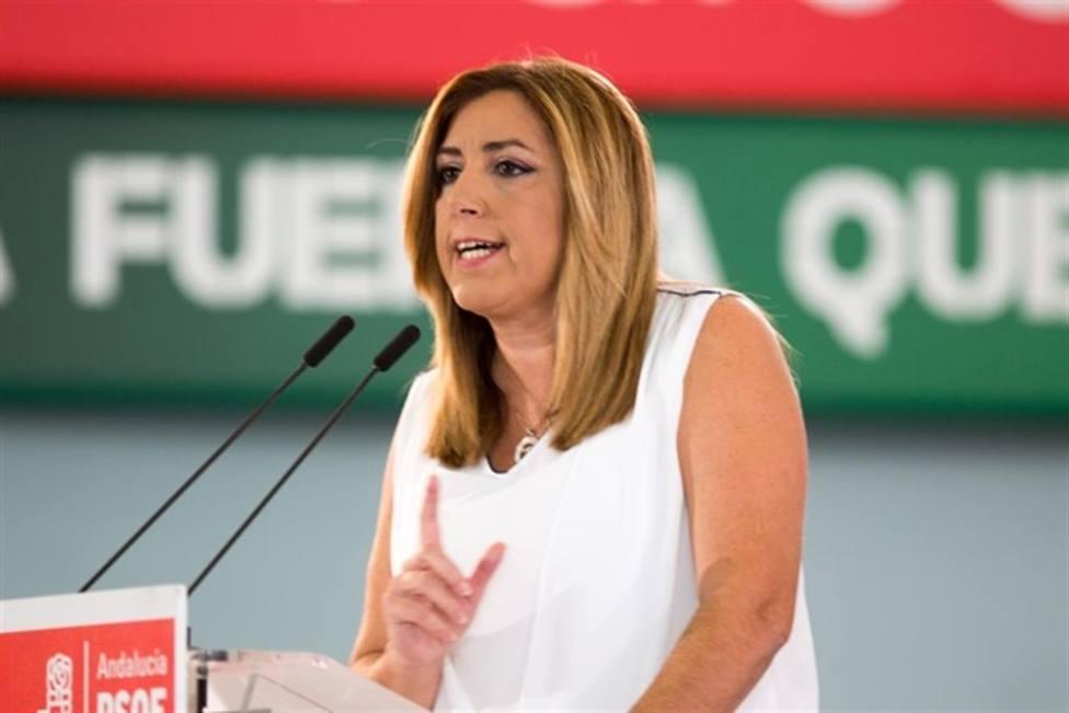 Susana Díaz presiona a Sánchez para aceptar la oferta de Iglesias
