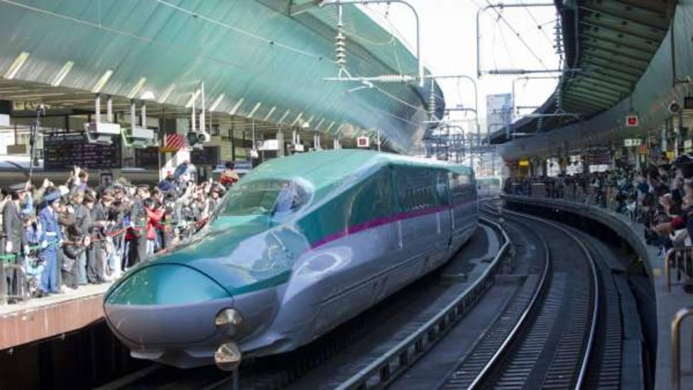 Una pequeña babosa paraliza la red ferroviaria de alta velocidad de Japón