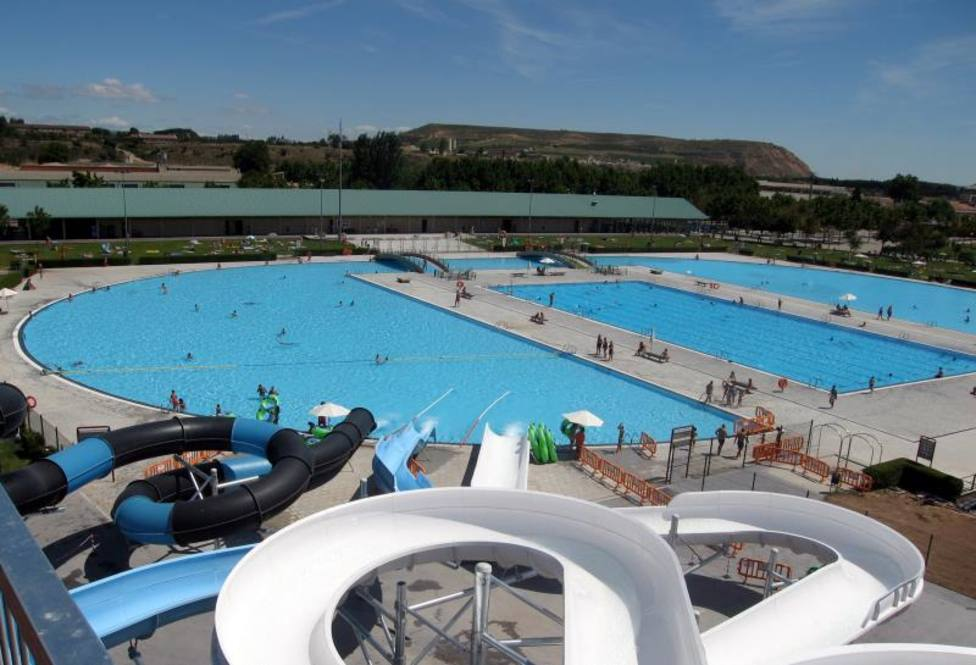 Las piscinas municipales de Logroño registran récord de público este verano