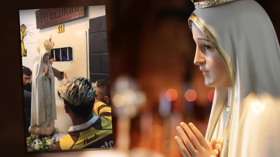 Esto pasa cuando la Virgen de Fátima visita una cárcel de alta seguridad