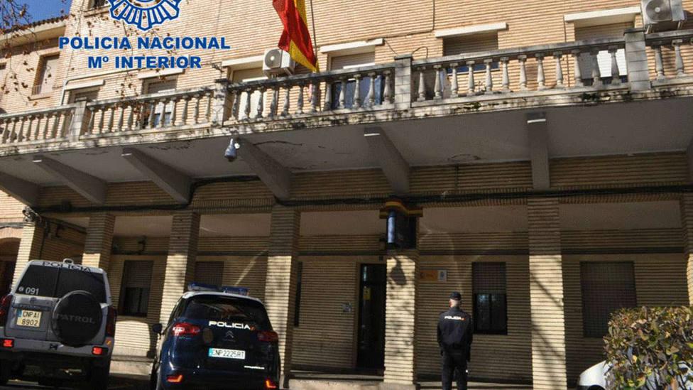 La Policía Nacional evita el suicidio de un maltratador en Tudela