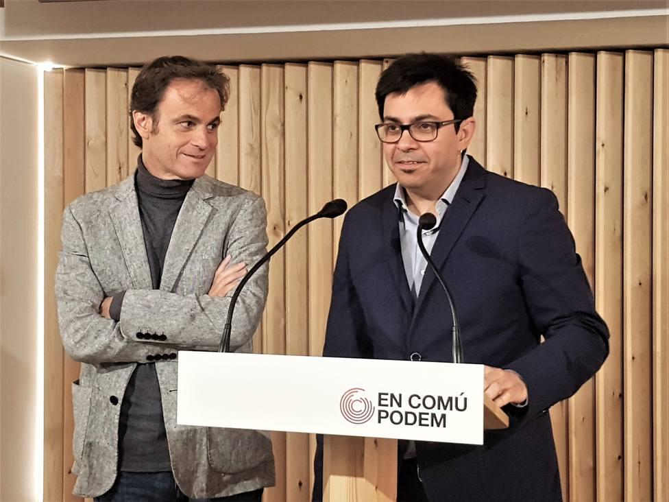 En Comú Podem reclama que el pacto del bloque plurinacional contra Vox en la Mesa sirva para la investidura