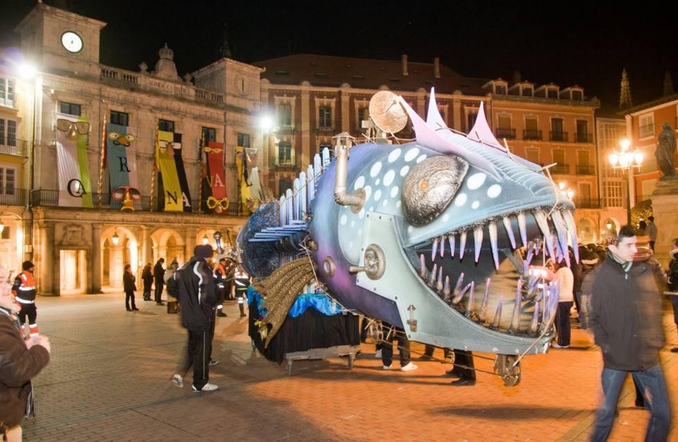 La quema de la sardina en el Carnaval de Burgos será más temprano que otros años