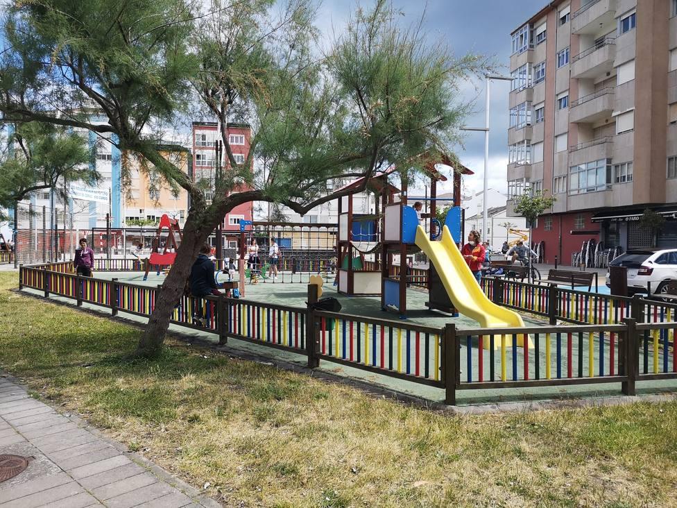 Los niños han vuelto al parque, en Cervo