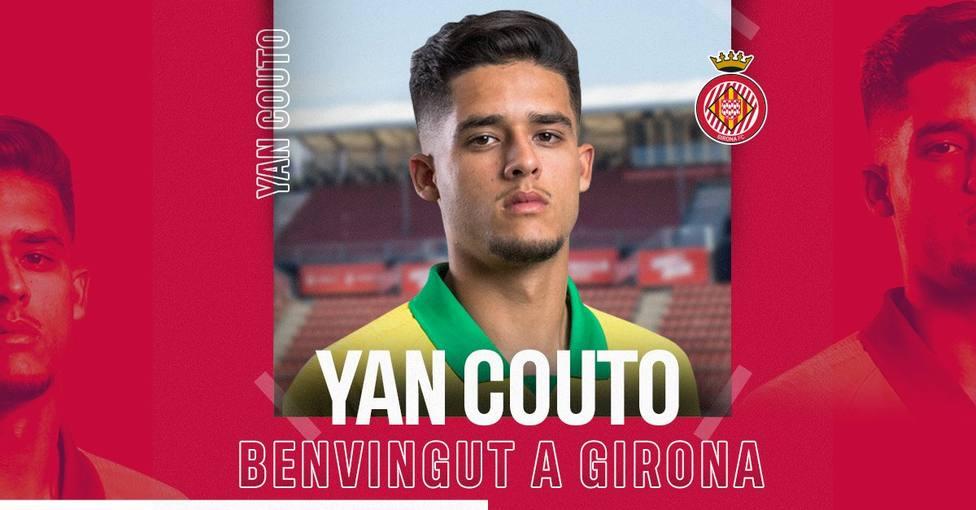Yan Couto: El Girona es un grandísimo club para crecer