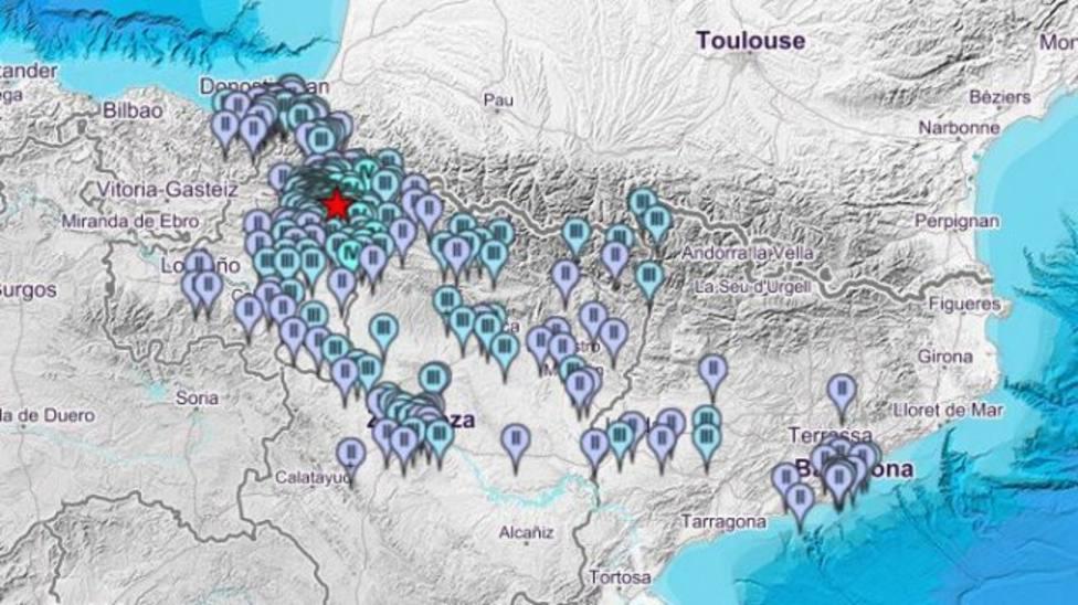 Un terremoto de 4,4 grados se siente en La Rioja