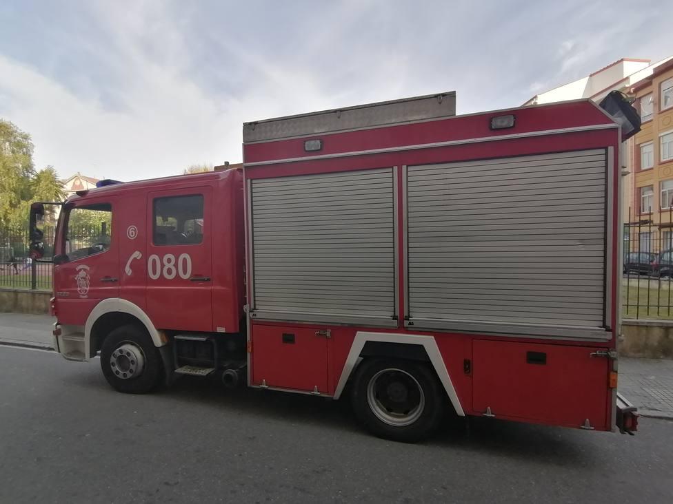 Foto de archivo de un camión de los Bomberos de Ferrol