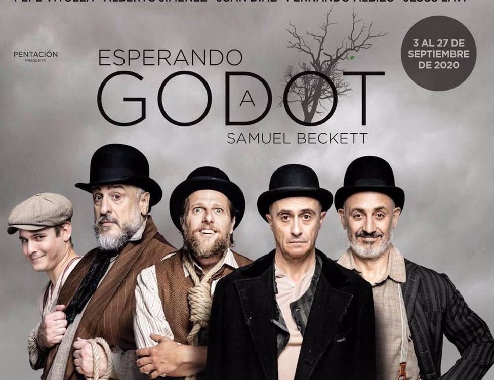 El Gran Teatro acoge el día 10 de octubre Esperando a Godot de la mano de Pepe Viyuela