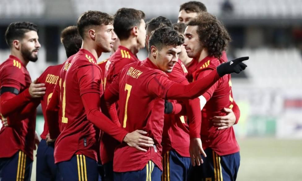 Brahim acerca a España a la Eurocopa Sub-21