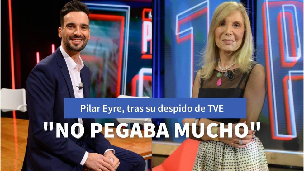 """La reacción de Pilar Eyre tras ser despedida del nuevo programa de TVE: """"No pegaba mucho"""""""
