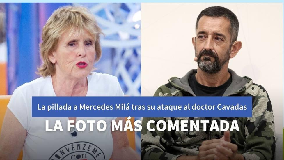 La imagen de Mercedes Milá que contradice sus críticas al doctor Cavadas en LaSexta Noche