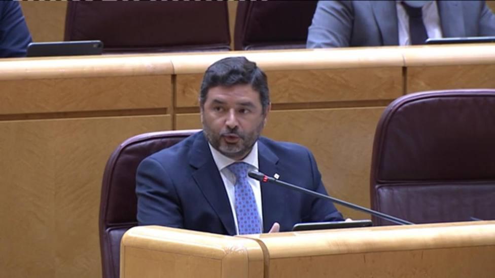 José Enrique Sánchez, senador del Partido Popular por Huelva