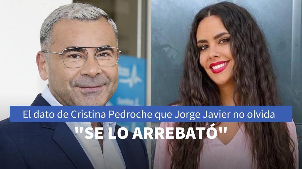 El dato de Cristina Pedroche que Jorge Javier Vázquez no olvida: Se lo arrebató