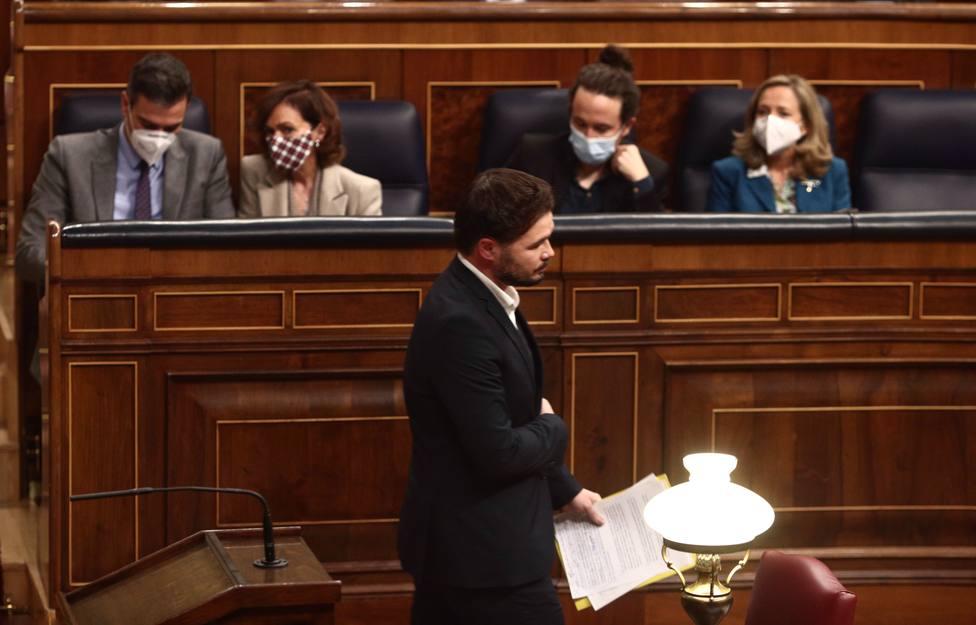 Rufián sobre el regreso de la mesa de diálogo: Volverá si ERC gana tanto este 14F que arrastra a todos