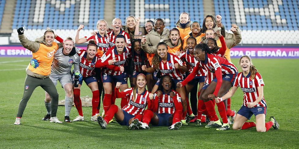 El Atlético se mete en la final de la Supercopa femenina
