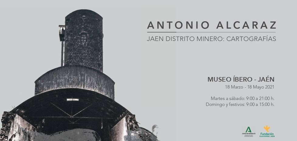 Antonio Alcaraz presenta su exposición Jaén distrito Minero: Cartografías