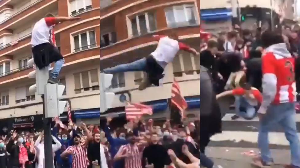La Policía de Bilbao pide vídeos y fotos para identificar a los autores de los altercados de la final de Copa