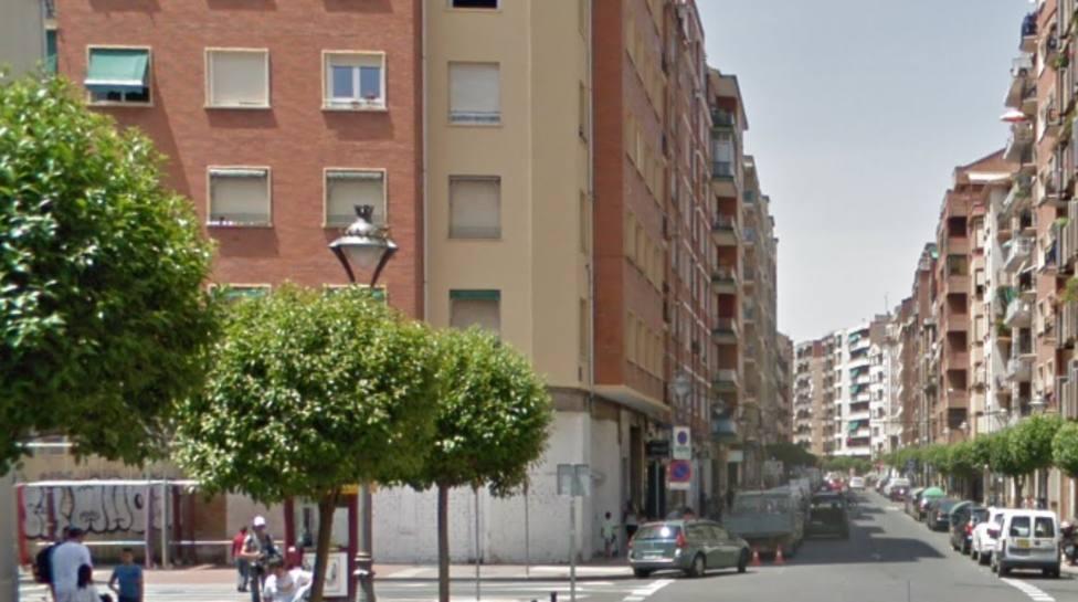Un niño de 13 años atropellado en el centro de Logroño