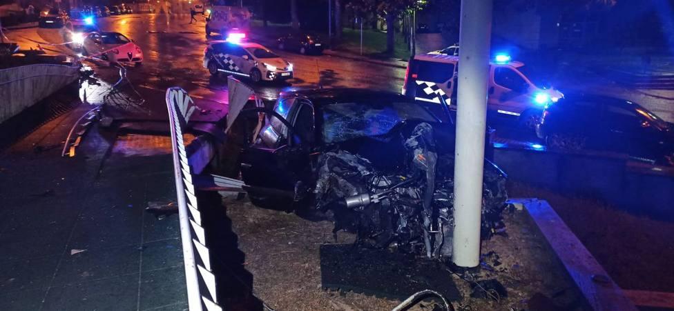 El accidente se produjo en la Avenida de Alfonso X