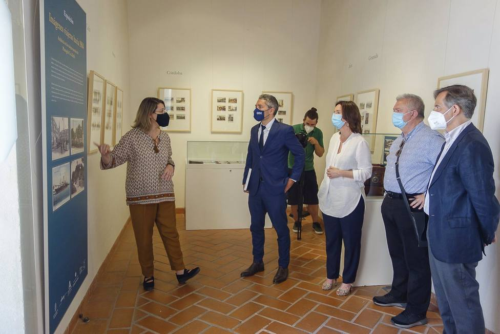 Granada2031.- La Casa de Zafra acoge la exposición de postales Imágenes viajeras hacia 1904