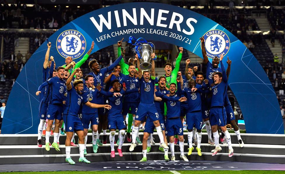 El Chelsea levanta el trofeo de la Champions League 2020-21
