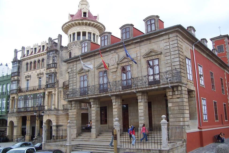 Fachada del Concello de Ribadeo