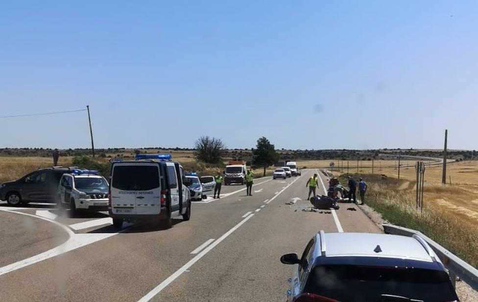 Accidente de moto en Cuenca