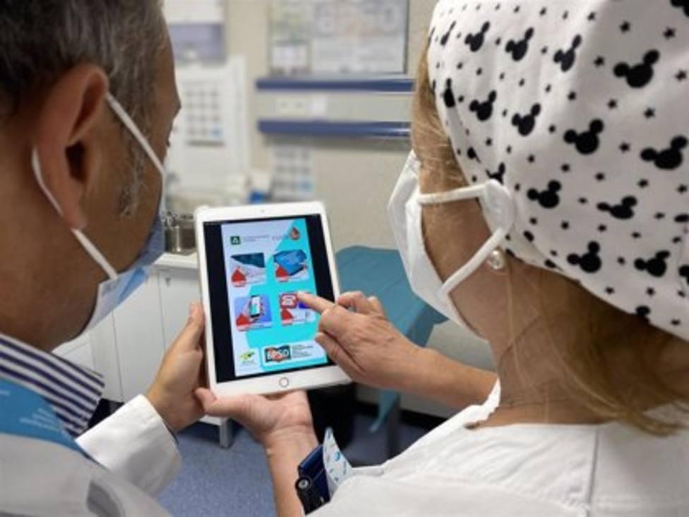Así funciona la aplicación móvil que ayuda a pacientes portadores de dispositivos venosos
