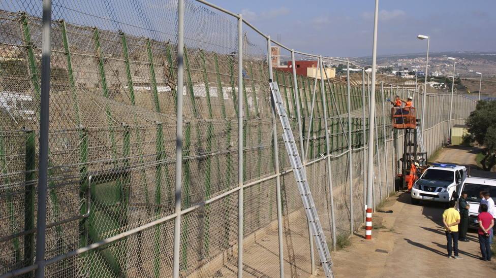 Valla de Melilla, recurso
