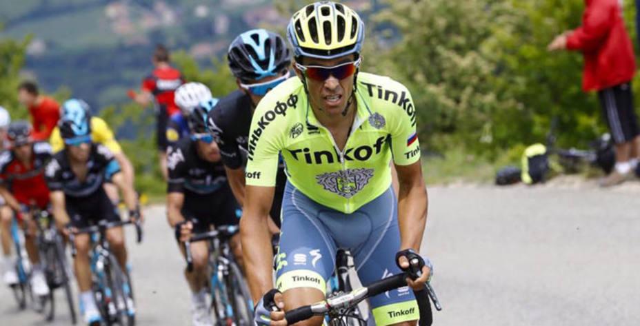 Alberto Contador, durante la pasada Dauphiné (FOTO - facebook.com/contador)