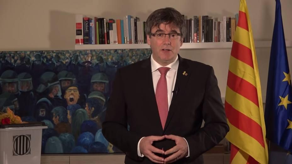 Puigdemont: La UE tiene presos políticos y el Estado pasea su vergüenza