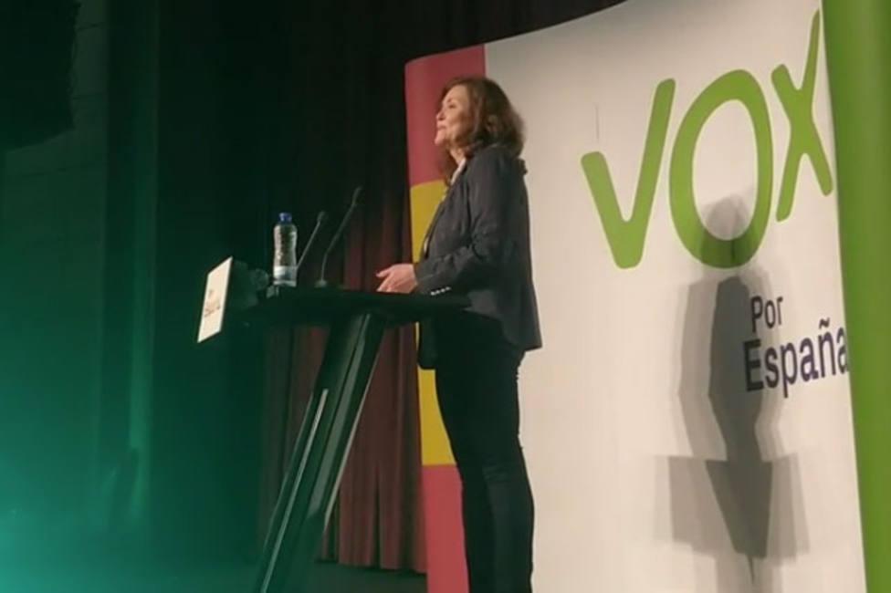Sonia Lalanda encabeza la lista de VOX a la alcaldía de Palencia.