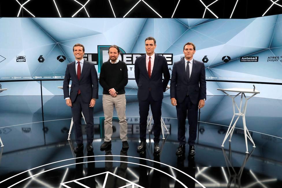Más broncas que propuestas en un debate que vuelve a demostrar la inconsistencia de Sánchez