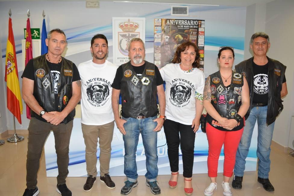 El Club Moteros Ciudad de Águilas celebra su primer aniversario con una concentración