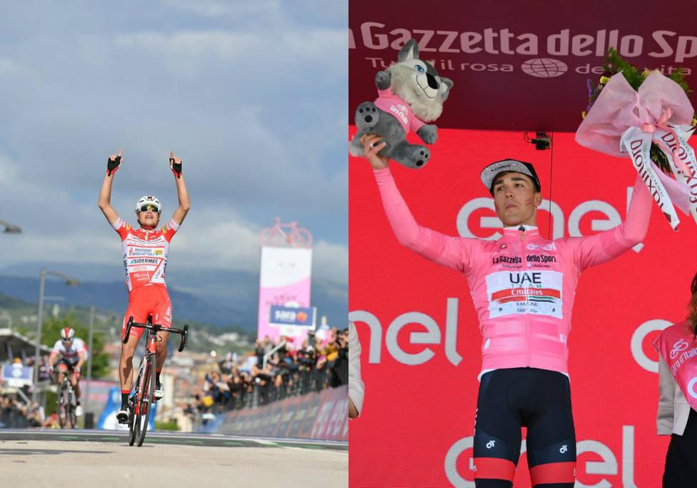 Masnada y Conti, protagonistas del Giro