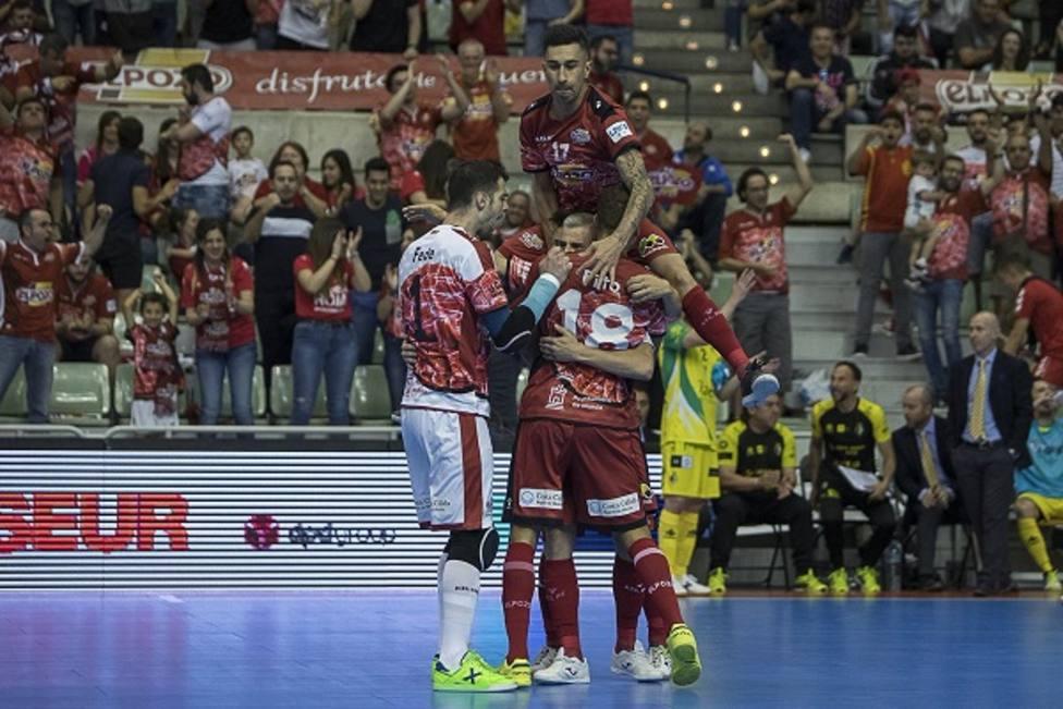 ElPozo Murcia FS sufre para tomar ventaja en la eliminatoria ante Jaén (4-2)