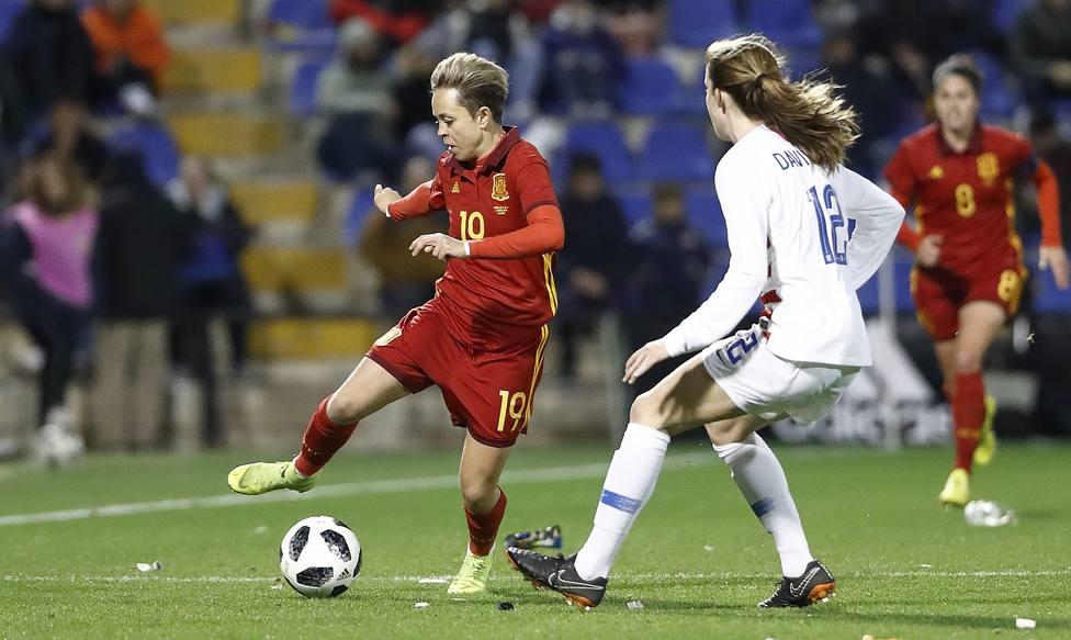 Amanda Sampedro: El otro día cambiamos algo porque ganamos nuestro primer partido en un Mundial