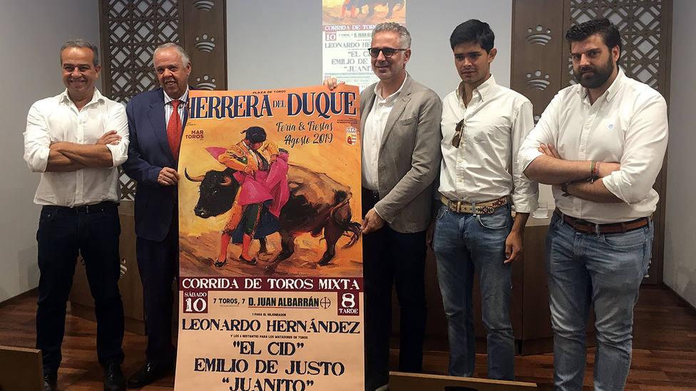 Acto de presentación del festejo mixto de Herrera del Duque