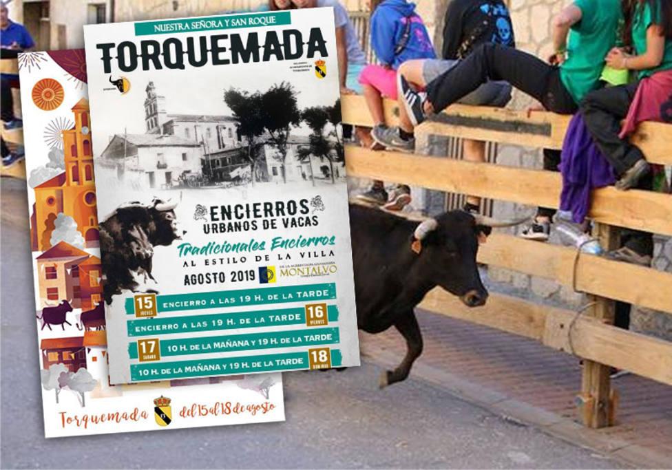 Cartel de fiestas de Torquemada 2019