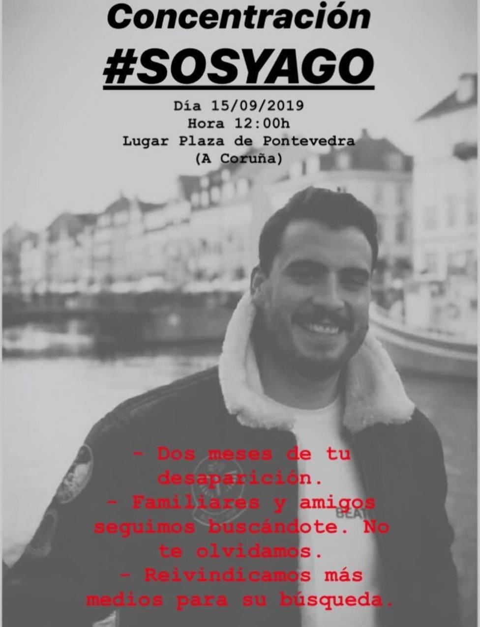 Cartel de la concentración #SOSYago