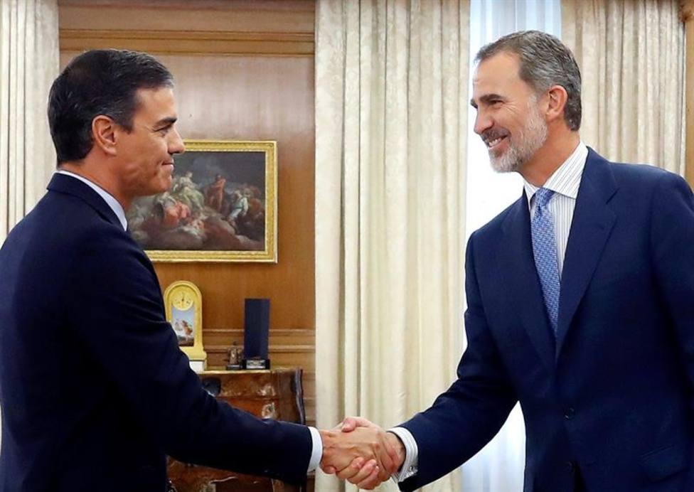 DIRECTO   El Rey Felipe VI recibe a Pedro Sánchez en Zarzuela para cerrar la ronda de consultas