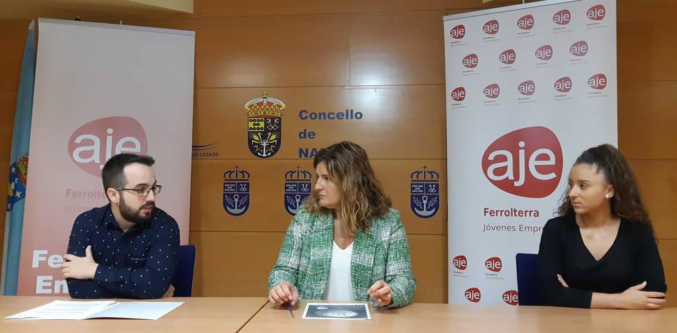 Presentación de los premios Ferrolterra Emprende en el concello de Narón